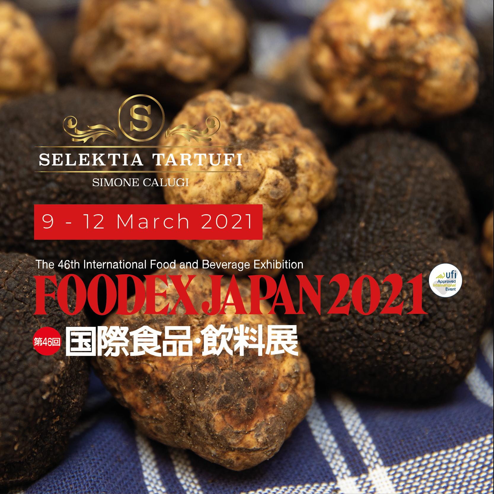 Selektia Tartufi a Foodex Japan 2021